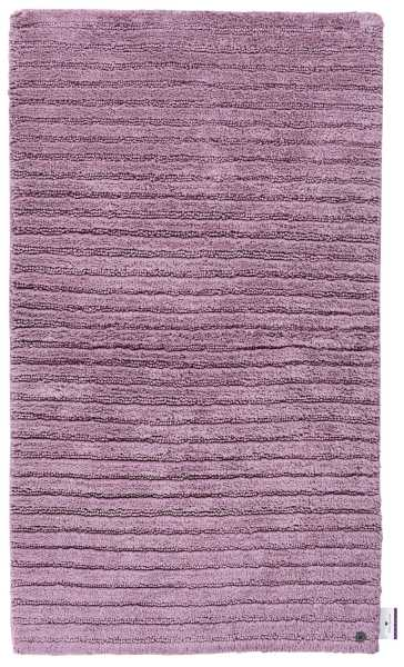 Badematte Cotton Stripes 360 Mauve